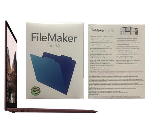 Porcellana Pro relazioni pro 16 HL2C2ZM/A Filemaker pro Windows di Filemaker fabbrica