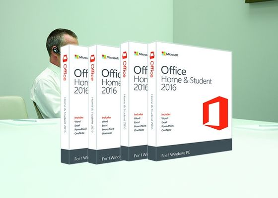 Office Home di 100% ed ufficio originali 2016 di affari sistemi domestici & dello studente di 2016 64bit