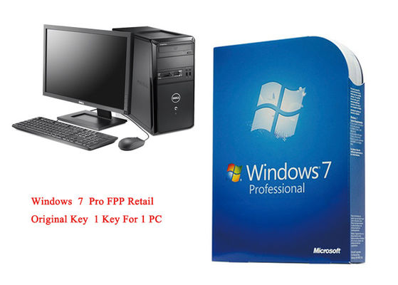 Il Pro Pack di MS Windows 7 online attiva 64bit i sistemi FPP genuino al minuto