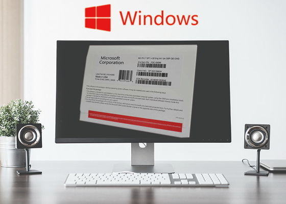 Porcellana Autoadesivo della licenza dell'Irlanda Windows 7/autoadesivo professionale FQC-80730 Coa di Windows 7 fabbrica